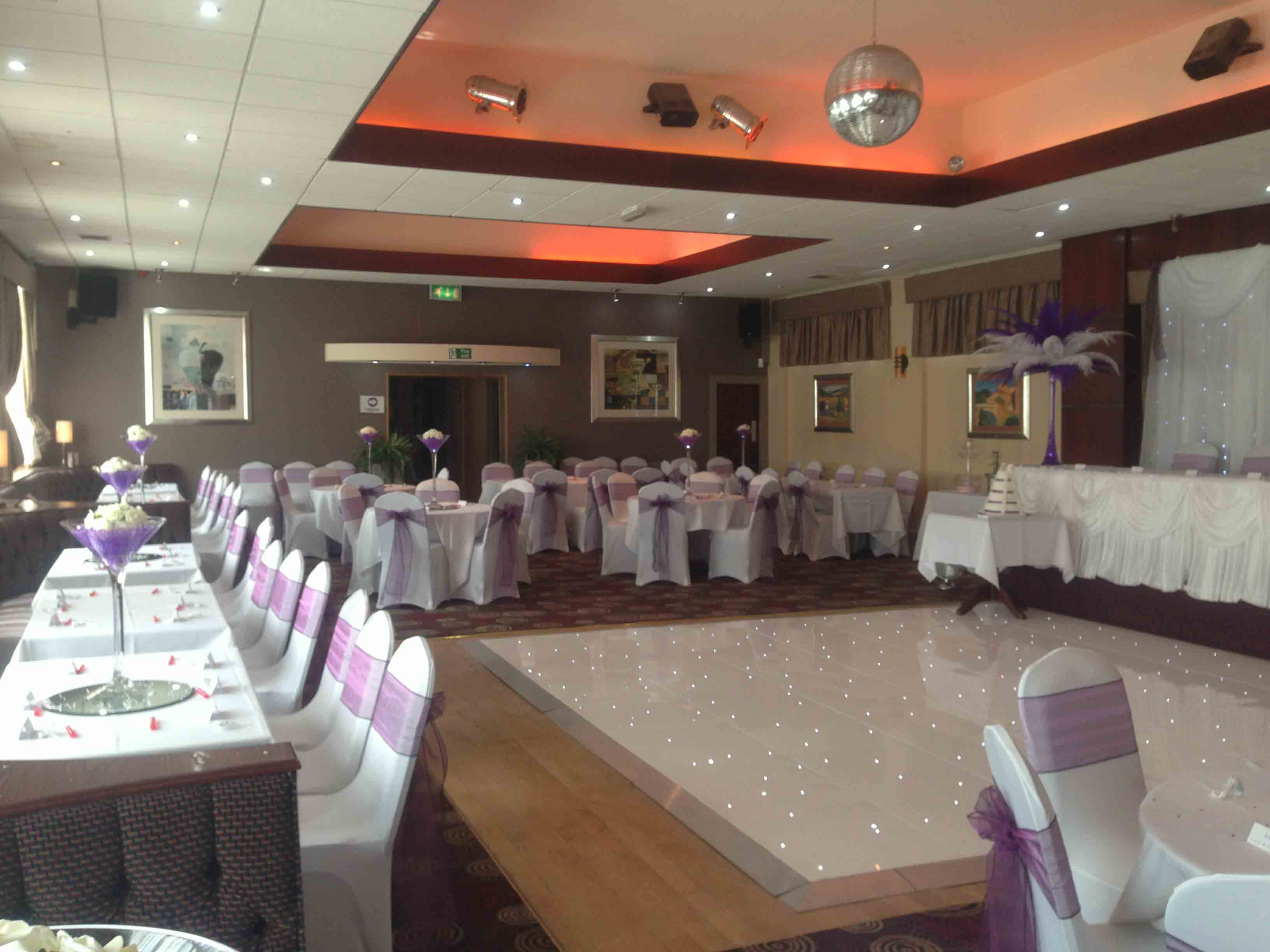 wedding decoration hire rugby wedding decorations stirling rugby