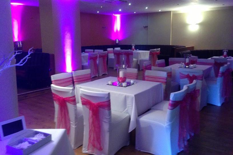 Wedding Centrepiece Decoration Hire Venue Dressing For