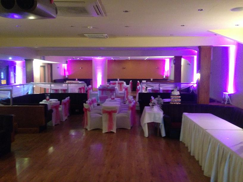 Venue Dressing Liverpool Dance Floor Hire Light Up LOVE Letters