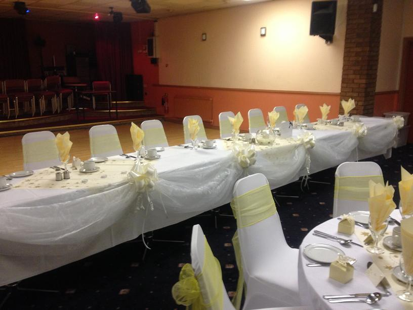 top table swags hire liverpool