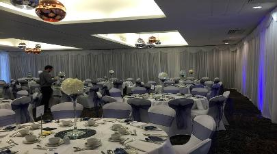 Curtain Drapes to hire - Liverpool