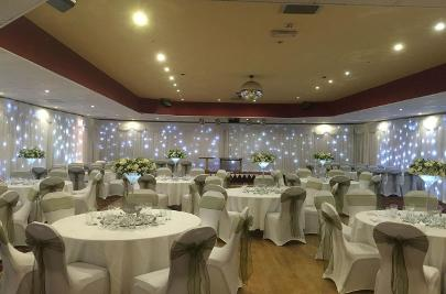 LED Twinkle Backdrop Hire, Formby, Southport, Liverpool, Wirral, Cheshire