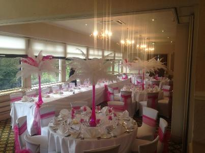 Ostrich Feather Hire, Cheshire, Wirral, Liverpool, Lancashire