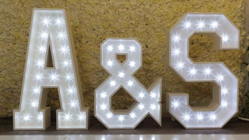 Light Up Letters Initials