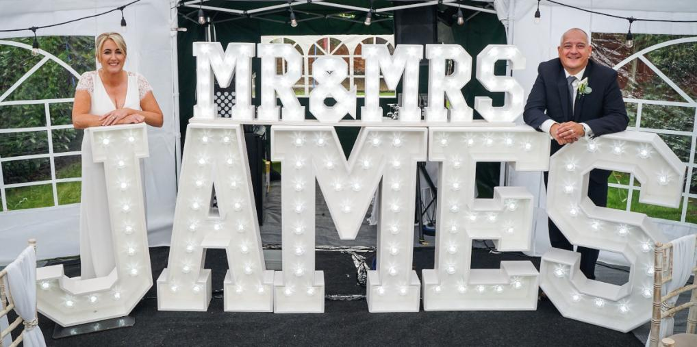 Mr & Mrs Surname Lights