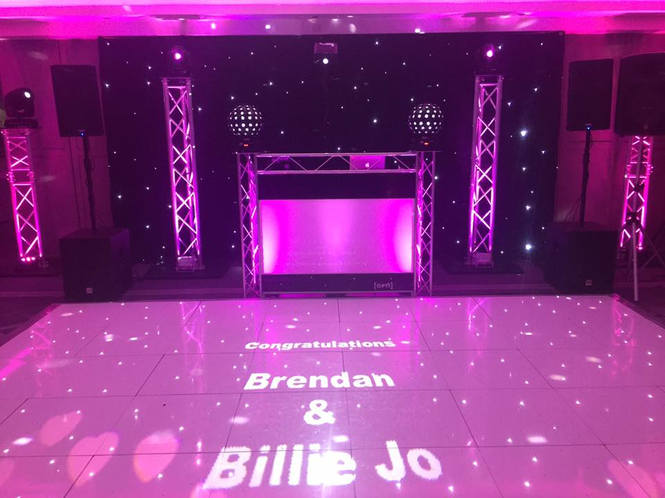 L.E.D. Dance Floor Hire Liverpool
