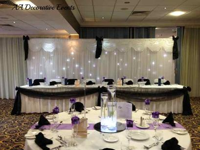 Twinkle Backdrop Hire - Weddings at The Suites Hotel