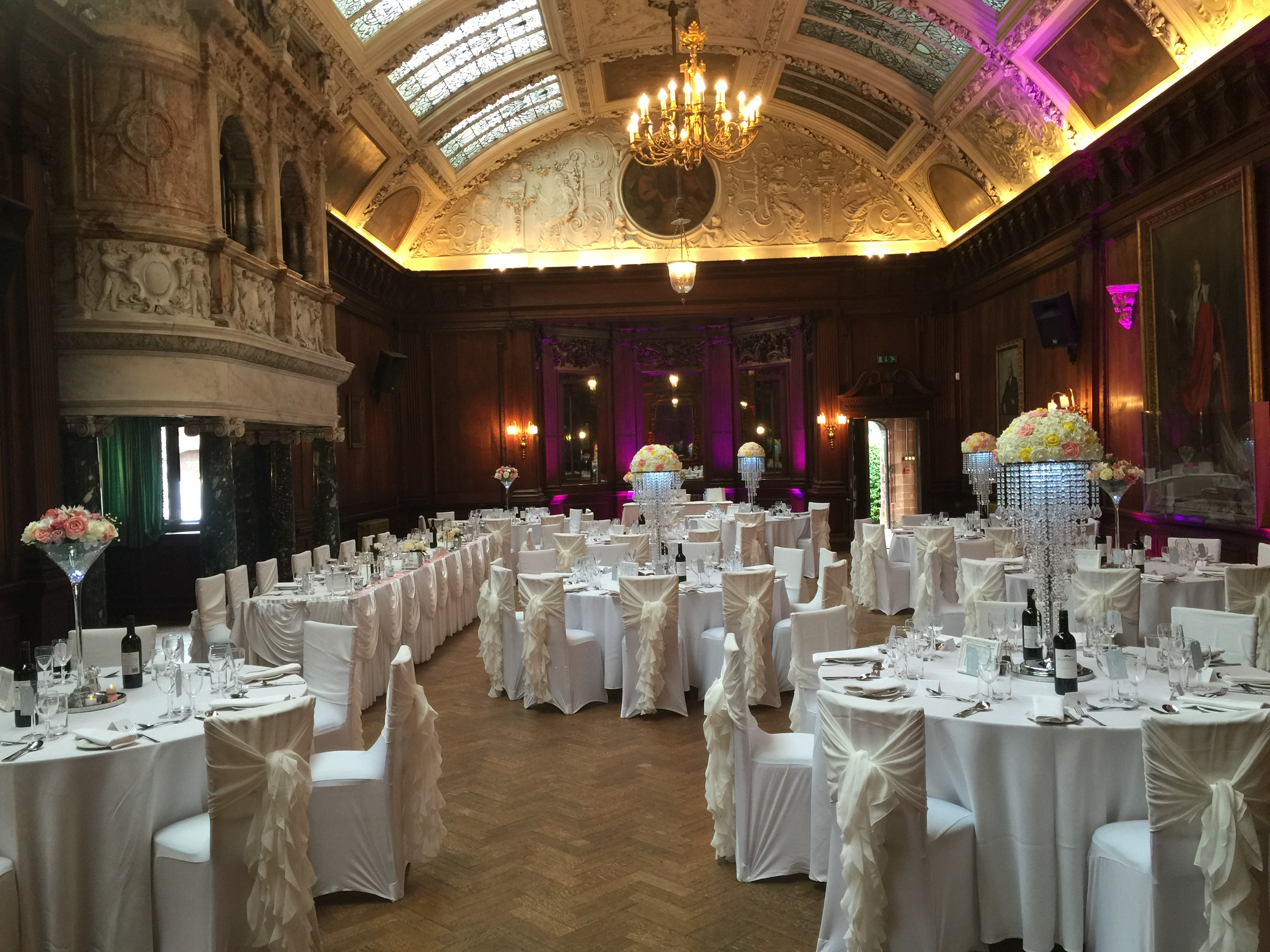 Thornton Manor Venue Dressing Dj Hire Dance Floor Hire