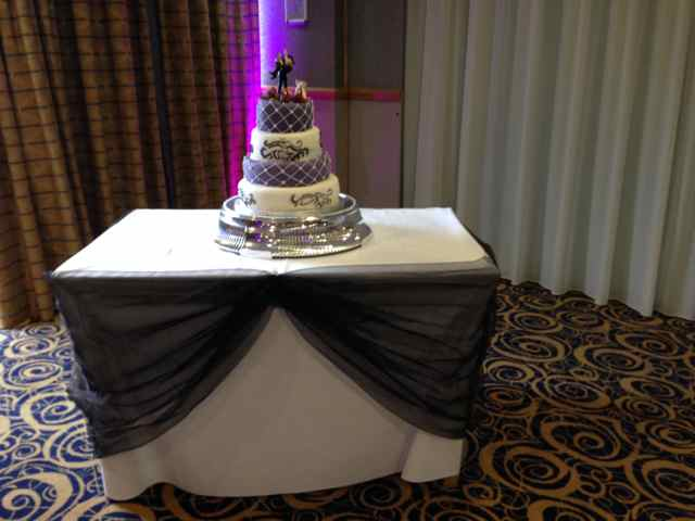 Cake Table Swags - Liverpool, Wirral, Cheshire