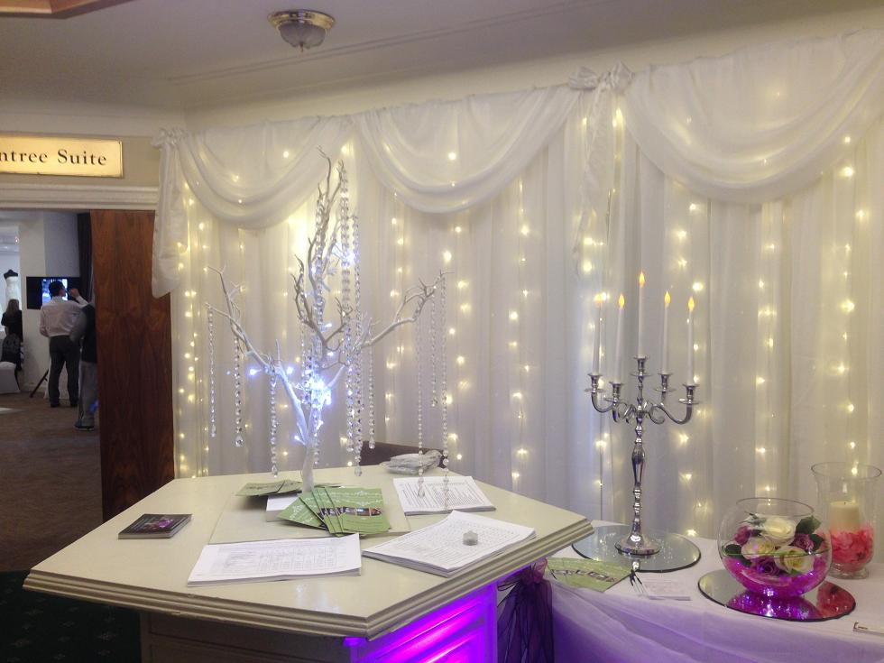 Backdrop Hire for your Wedding Liverpool
