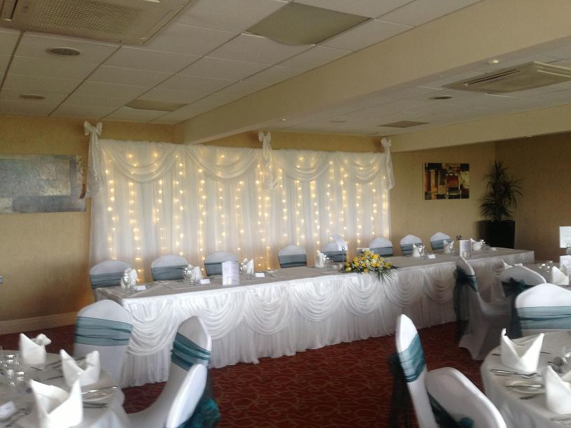 Top Table Dressing for Weddings in Wirral