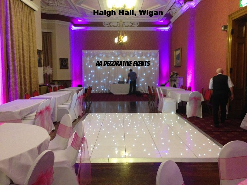 Twinkle dance floor hire haigh hall, wigan, cheshire